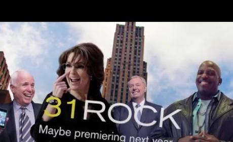 "Sarah Palin Mocks Tina Fey in ""31 Rock"" Promo"
