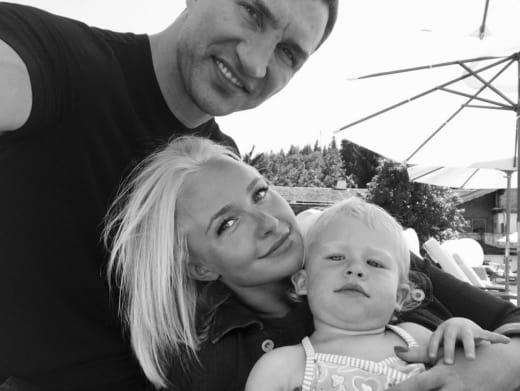Hayden Panettiere Wladimir Klitschko Daughter Kaya Pic