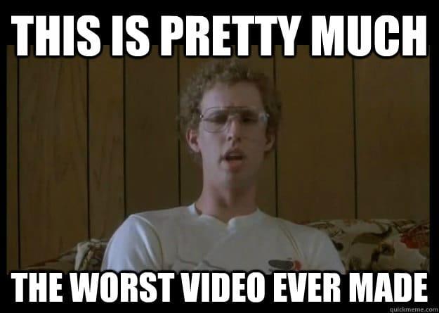 "Napoleon Dynamite: ""Worst Video Ever!"""