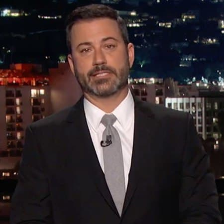 Jimmy Kimmel Tears Up