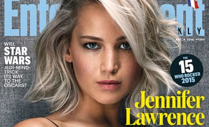 Jennifer Lawrence Named Entertainer of the Year for Some Reason!