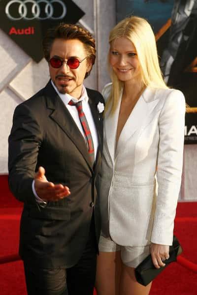 Gwyneth Paltrow and Robert Downey Jr.