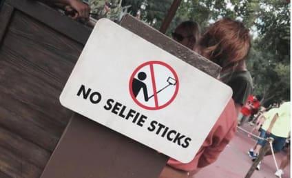 Disney to Patrons: Get Over Yourself, No Selfie Sticks Allowed!!!