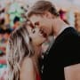 Brielle Biermann and Michael Kopech Make Out