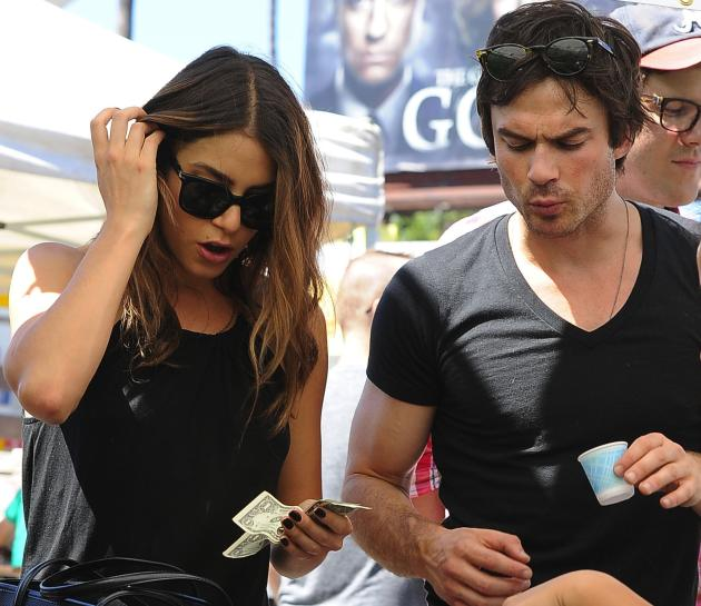 Ian Somerhalder and Nikki Reed Equals Hot