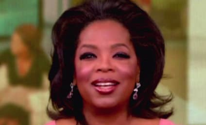 Maria Shriver Makes Surprise Visit to Oprah