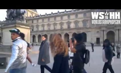 Jay Z Gets Pissed at French Paparazzi Who Doesn't Recognize Him! Watch the Hilarious Video!