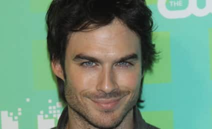 Ian Somerhalder Continues Push For Fifty Shades of Grey Role
