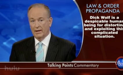 Bill O'Reilly Enraged at Law & Order Reference