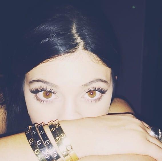 Kylie Jenner Sad Selfie