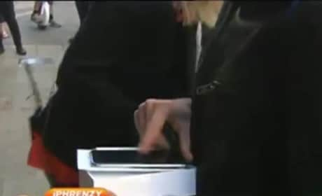 iPhone 6 Owner Drops Phone on Live TV