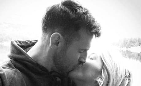 Brooks Laich Kisses Julianne Hough