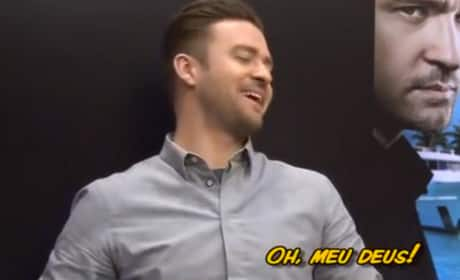 Justin Timberlake Was Given WHAT by a Reporter?!?