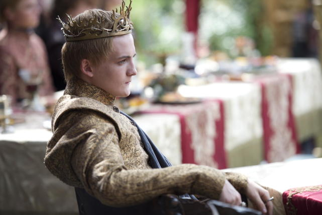 King Joffrey: Purple Wedding Photo