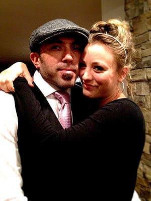 Kaley Cuoco and Josh 'Lazie' Resnik