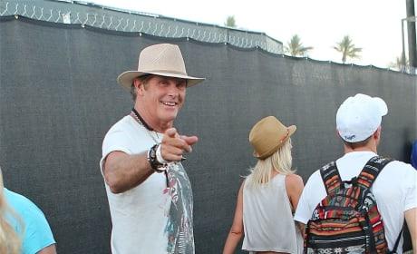 David Hasselhoff at Coachella