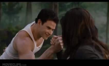 Breaking Dawn Part 2 Clip: Let's Wrestle!