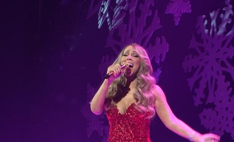 Mariah Carey Performs at Beacon Theatre