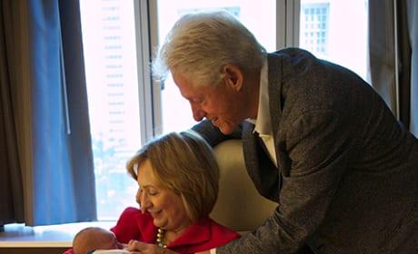 Bill, Hillary and Charlotte