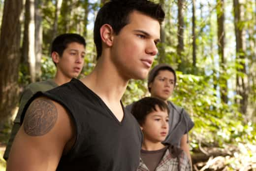 Taylor Lautner in The Twilight Saga