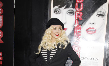 What is Christina Aguilera's best red carpet look?