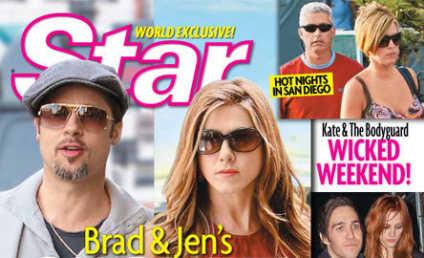 Celebrity News Lie of the Week: Brad & Jen Hook Up!