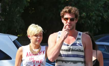 "Miley Cyrus and Liam Hemsworth: Reunited, ""Happy"""