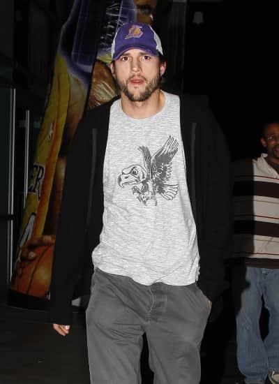 Ashton Kutcher in LA