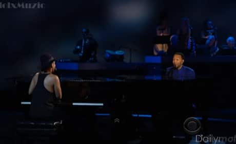 "Alicia Keys and John Legend - ""Let It Be"""