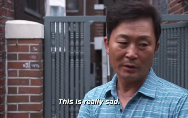 Jihoon lees dad this is really sad