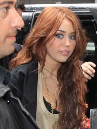 Miley in Public