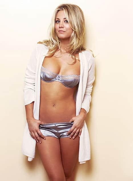 Kaley Cuoco Underwear Photo