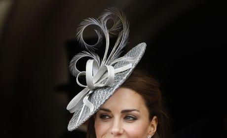 Kate Middleton, Silver Hat