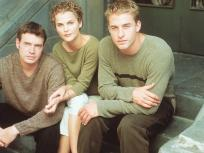 Felicity's Scott Foley, Keri Russell, and Scott Speedman