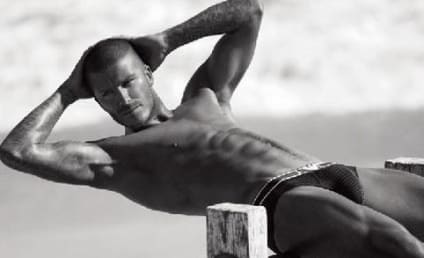 Hotness Alert: David Beckham in Underwear!