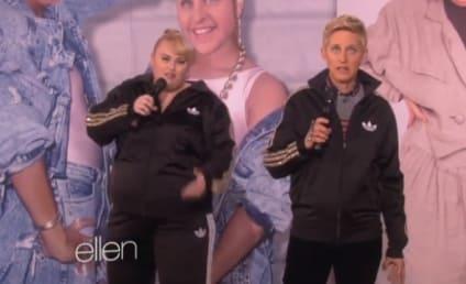 """Ellen DeGeneres and Rebel Wilson Form Rebellen, Rap """"Watching Cats on the Internet"""""""