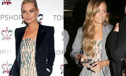 Fashion Face-Off: Kate Moss vs. Lauren Conrad