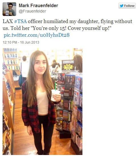 Mark Frauenfelder Daughter