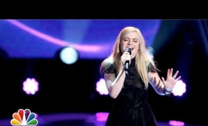 "Holly Henry Wows The Voice Coaches With ""The Scientist"""