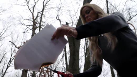 Stephanie Davison torches Ryan Carr's visa application