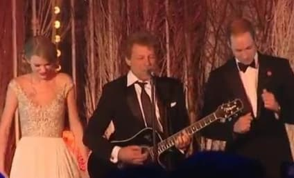 Taylor Swift Meets Prince William, Sings with Bon Jovi and Royal Hottie