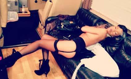 Rihanna Goes Topless (AGAIN!), Smokes Cigarette
