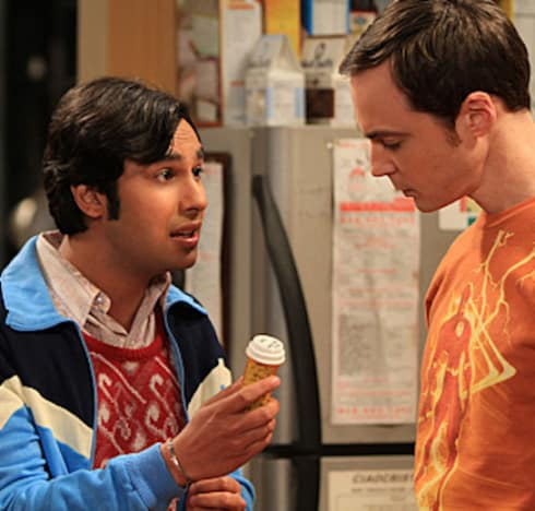Raj and Sheldon