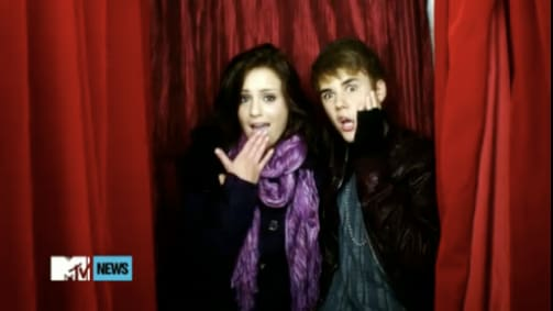 Justin Bieber Music Video Still