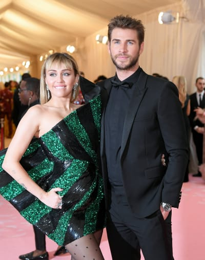 Miley Cyrus and Liam Hemsworth at that Gala