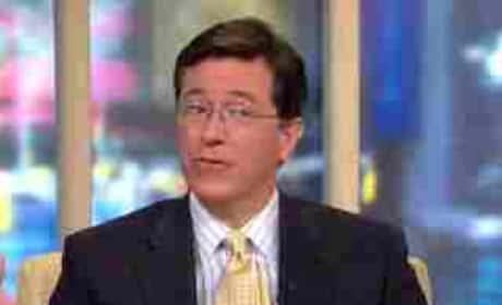 Stephen Colbert on Good Morning America