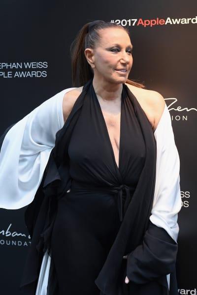 Donna Karan in Black and White