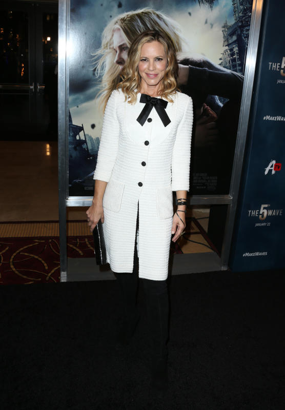 Maria Bello: AwesomenessTV's special fan screening of 'The 5th Wave'