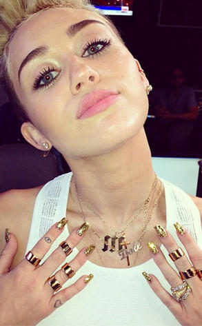 Miley Cyrus Ring Pic