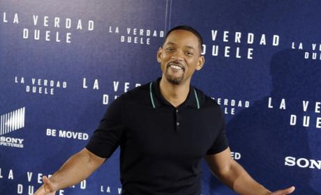 Will Smith: 'Concussion' Madrid Photocall